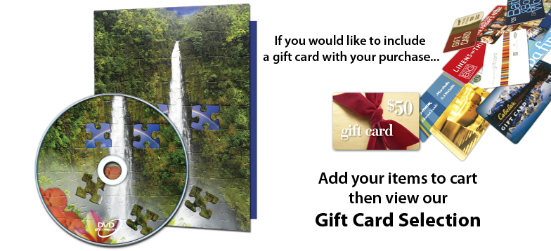 Romance Puzzle Photo Card add Gift Card